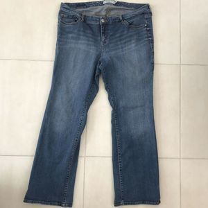 Torrid Straight Distressed Stretch Jeans